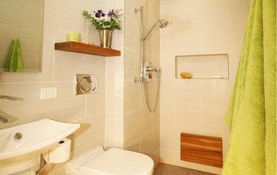 Make a Tiny Bathroom Work Wonders
