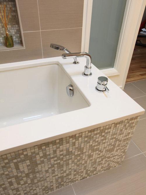 Bathroom Tub Deck Ideas : Quartz tub deck ideas pictures remodel and decor