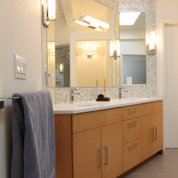 Midcentury Mirror Bathroom Design Ideas Pictures Remodel