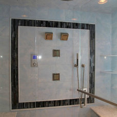 Contemporary Bathroom by Best Plumbing Tile & Stone