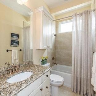 75 Most Popular Wichita Bathroom With A One Piece Toilet ...