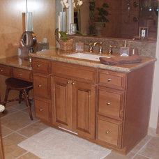 Traditional Bathroom by CabinetDIY
