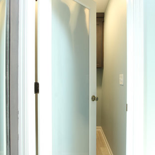 Frosted Glass into Master Bathroom Water Closet
