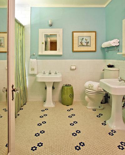 Traditional Bathroom by Dona Rosene Interiors