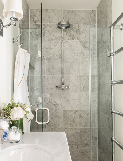 Stunning Traditional Bathroom by Lisette Voute Designs
