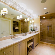 Eclectic Bathroom by Andrew Roby General Contractors