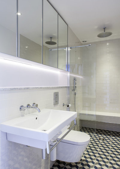 Contemporary Bathroom by Trevor Brown Architect