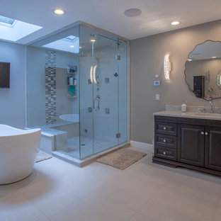 75 Most Popular Miami Bathroom with Cement Tiles Design
