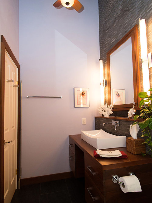 Modern Tropical Bathroom Houzz