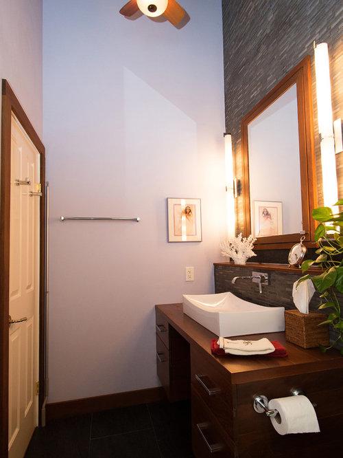 Modern Tropical Bathroom Houzz
