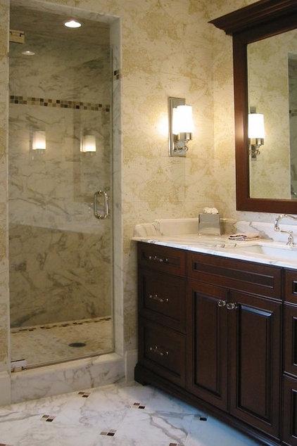 Traditional Bathroom by Rob Kane - Kitchen Interiors Inc.