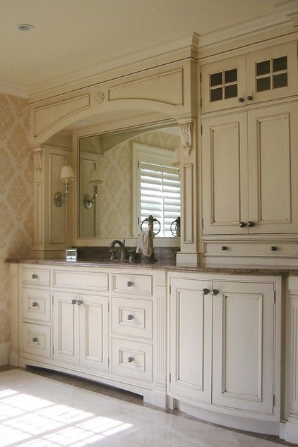 traditional bathroom by Rob Kane - Kitchen Interiors Inc.