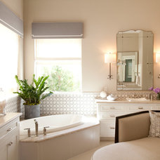 Traditional Bathroom by Dodson Interiors