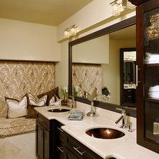 Eclectic Bathroom by Diane Designs & Associates