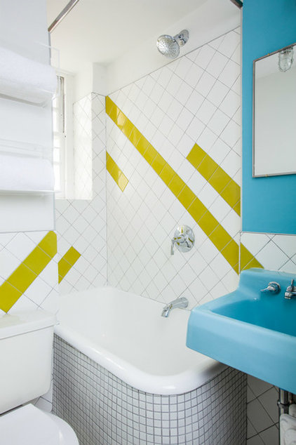 Eclectic Bathroom by The New Design Project