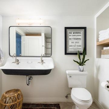 Fun Guest Bathroom