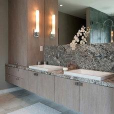 Modern Bathroom by Marmiro Stones, Inc