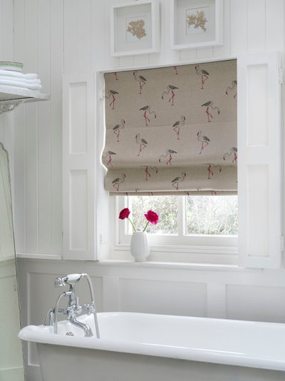 Contemporary Bathroom by Just Fabrics
