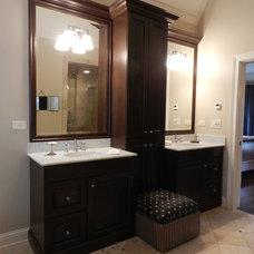 Rustic Bathroom by Cheryl D & Company