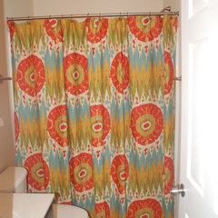 shower curtains by JBC Interiors