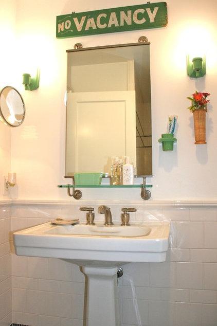 Beach Style Bathroom by Kelley & Company Home