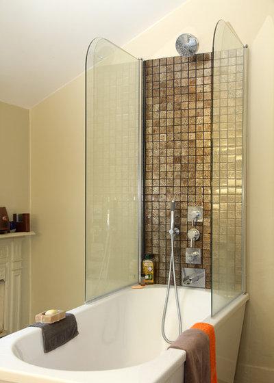 Eclectic Bathroom by Balance Design Ltd