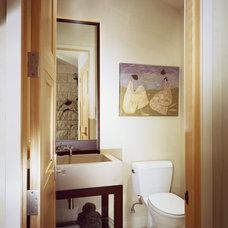 Modern Bathroom by ROWLAND BROUGHTON ARCHITECTURE & URBAN DESIGN