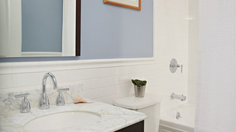Furniture rental for Boston Brownstone home staging