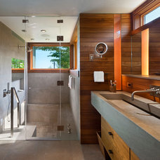 Contemporary Bathroom by Blaze Makoid Architecture