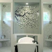 bath tub niche