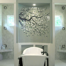 Traditional Bathroom by Designer Glass Mosaics