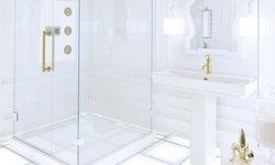 Futuristic White Bathroom