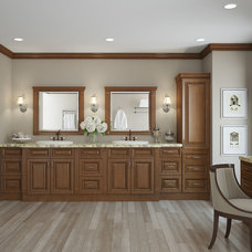 Traditional Bathroom Storage by FX Cabinets Warehouse