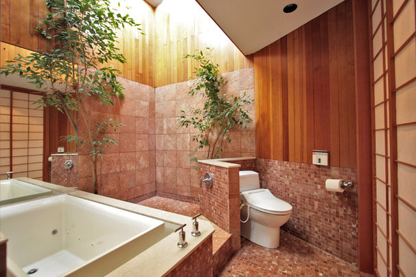 Asian Bathroom by G. Steuart Gray AIA