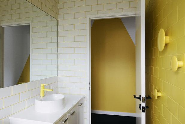 Ванная комната by MRTN Architects