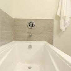 Transitional Bathroom by Vineyard Developments