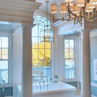Freestanding bathtub - traditional freestanding bathtub idea in Other