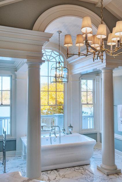 Beach Style Bathroom by Gabriel Builders Inc.