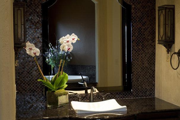 Traditional Bathroom by Rick Hoge