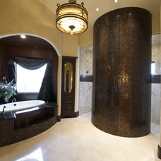 Traditional Bathroom by Rick Hoge