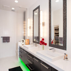 Contemporary Bathroom by Busby Cabinets