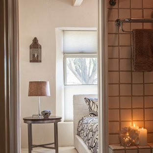 Inspiration for a southwestern bathroom remodel in Albuquerque