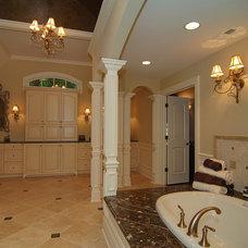 Traditional Bathroom by Meyer Design
