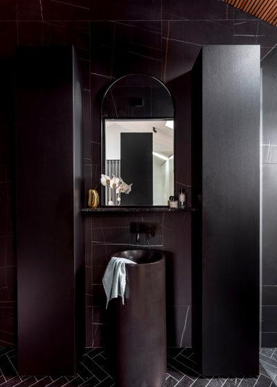 Современный Ванная комната by Ginardi