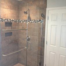 Traditional Bathroom by Omnia Construction