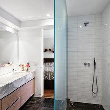 Modern Bathroom by TACT Design