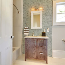 Transitional Bathroom by MLM INCORPORATED