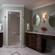 Traditional Bathroom by Anna Lattimore Interior Design