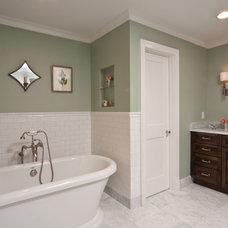 Traditional Bathroom by Anna Lattimore Interior Design