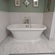 Traditional Bathroom by Anna Baskin Lattimore Design